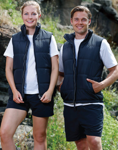 JK47 - Adult's Heavy Quilted Vest Winning Spirit