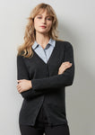 LC417L - Ladies Milano Cardigan Biz Collection