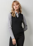 LV3504 - Ladies V-Neck Vest Biz Collection