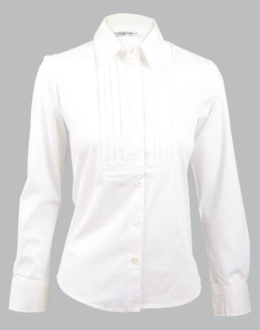 Ladies Stretch Tuck Front Shirt M8192