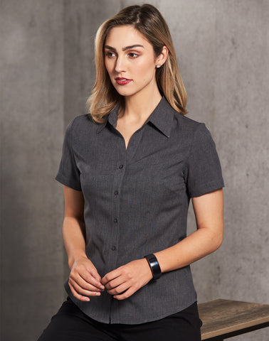 M8600S - Ladies CoolDry® Short Sleeve Shirt Benchmark