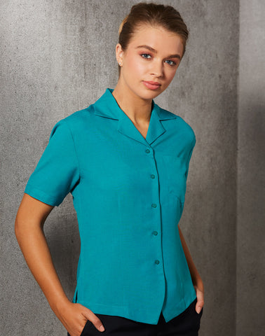 M8614S - Ladies CoolDry® Short Sleeve Overblouse Benchmark
