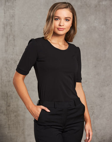 M8800 - Ladies Scoop Neck T-Top Benchmark