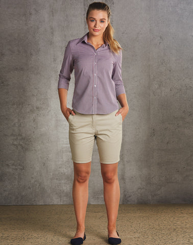 M9461 - Ladies Chino Shorts Benchmark