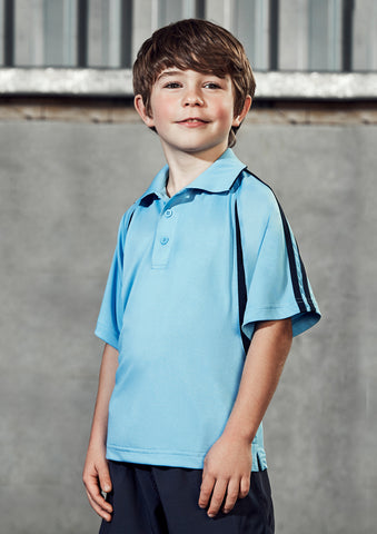 P3010B - Kids Flash Polo Biz Collection