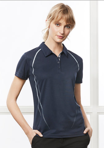 P604LS - Ladies Cyber Polo Biz Collection