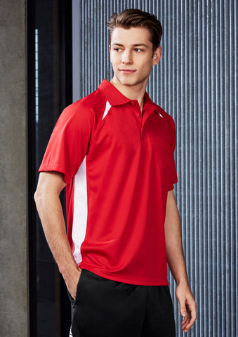 P7700 - Mens Splice Polo Biz Collection