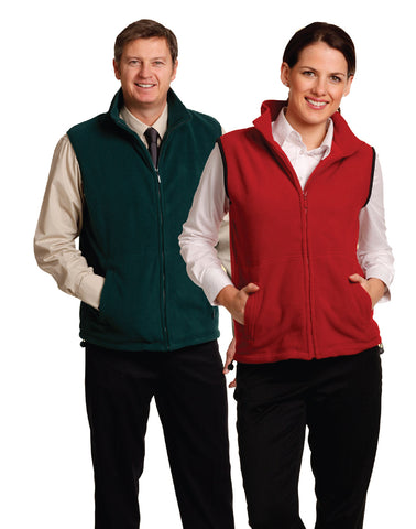 PF02 - Unisex Polar Fleece Vest Winning Spirit
