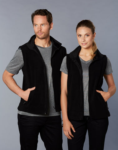 PF22 - Adult's Bromley Polar Fleece Vest Winning Spirit