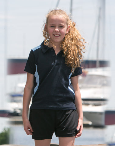PS31K - Kids TrueDry® Contrast Short Sleeve Polo Winning Spirit