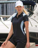 PS32A - Ladies TrueDry® Contrast Short Sleeve Polo - (New size specs for PS32.) Winning Spirit
