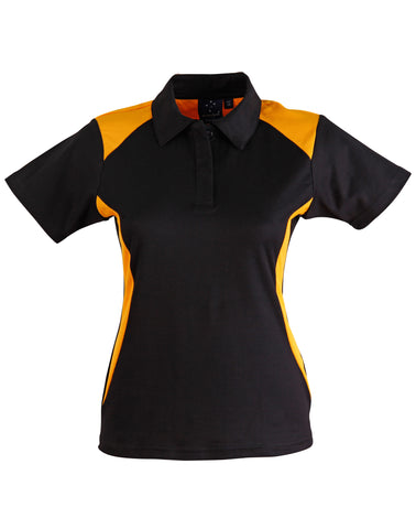 Ladies TrueDry Contrast Short Sleeve Polo PS32A