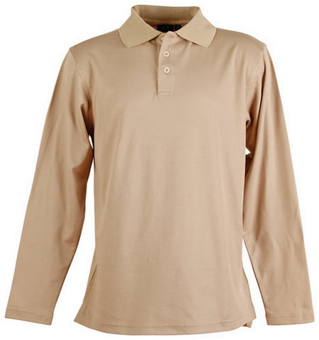 TrueDry Long Sleeve Polo PS35