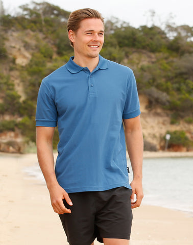 PS63 - Men's TrueDry® Solid Colour Short Sleeve Pique Polo Winning Spirit