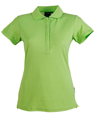 Ladies TrueDry Solid Colour Short Sleeve Pique Polo PS64