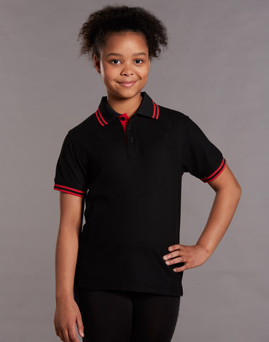 PS65K - Kids TrueDry® Pique Short Sleeve Polo Winning Spirit