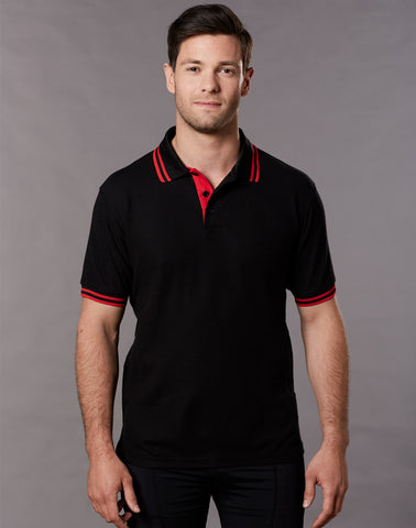 PS65 - Mens TrueDry® Pique Short Sleeve Polo Winning Spirit