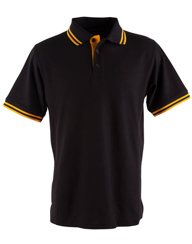Mens TrueDry Pique Short Sleeve Polo PS65