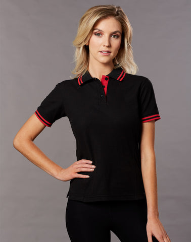 PS66 - Ladies TrueDry® Pique Short Sleeve Polo Winning Spirit