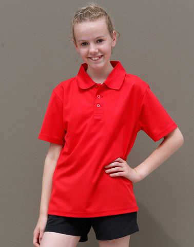 PS81K - Kids CoolDry® Polyester Piqué Polo Winning Spirit