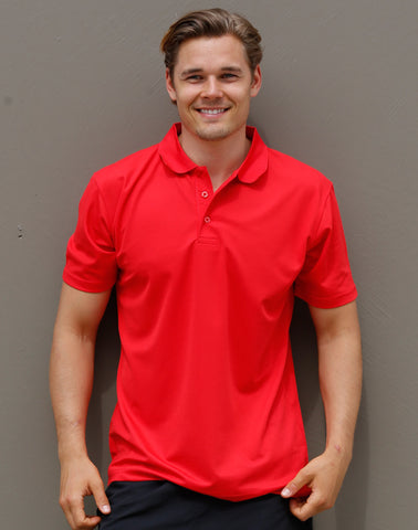PS81 - Mens CoolDry® Polyester Piqué Polo Winning Spirit