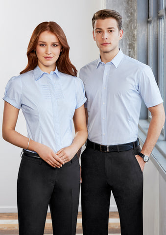 S121MS - Mens Berlin Short Sleeve Shirt Biz Collection