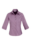 Ladies Chevron 3/4 Sleeve Shirt S122LT