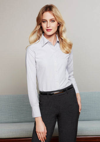 S29520 - Ladies Ambassador Long Sleeve Shirt Biz Collection