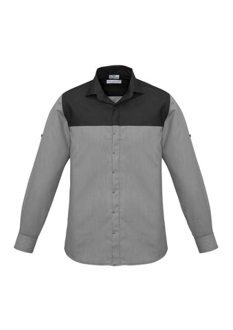 Mens Havana Long Sleeve Shirt S503ML
