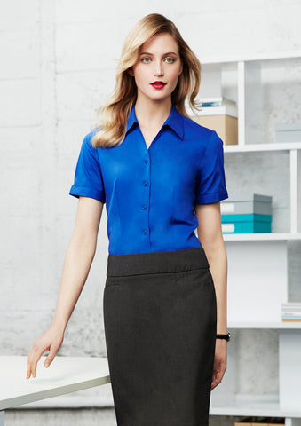 S770LS - Ladies Monaco Short Sleeve Shirt Biz Collection