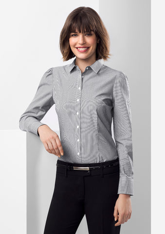 S812LL - Ladies Euro Long Sleeve Shirt Biz Collection