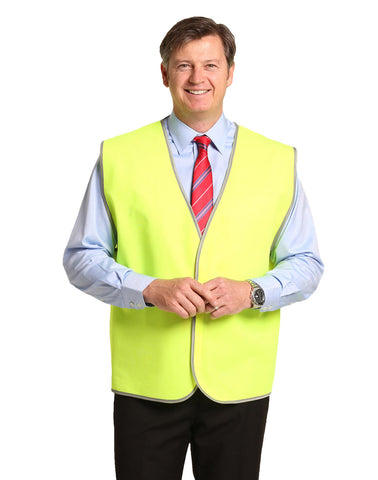 SW02A - Adults Hi-Vis Safety Vest AIW