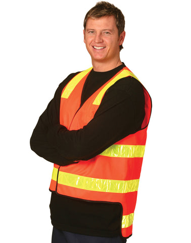 SW10A - VIC Road Style Safety Vest AIW
