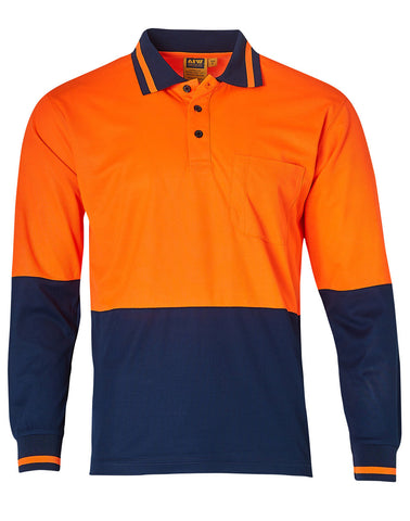 TrueDry® Long Sleeve Safety Polo SW11