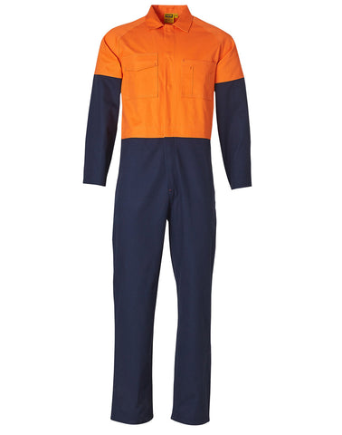 Mens Stout Size, Cotton Drill Coverall SW205
