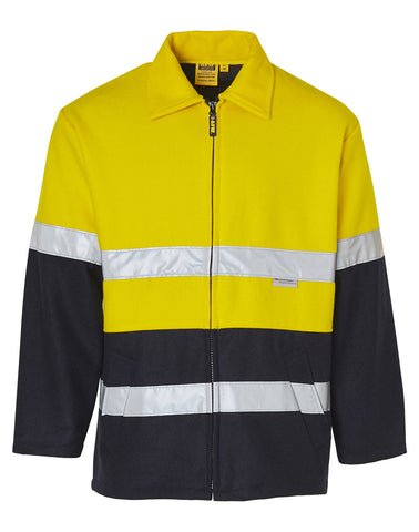 Hi-Vis Two Tone Bluey Safety Jacket with 3M SW31A