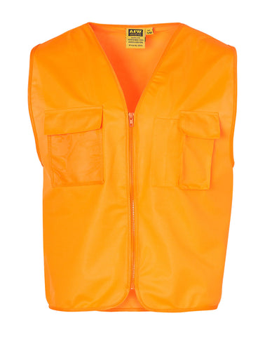 High Visibility Safety Vest with chest pockets SW41