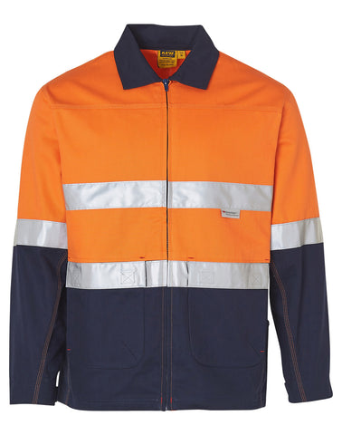 High Visibility Cotton Jacket With 3M Reflective Tapes SW46