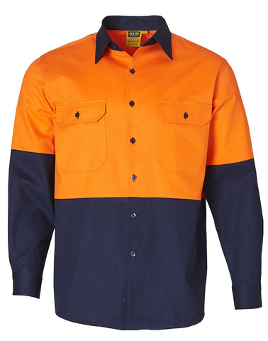 High Visibility Long Sleeve Work Shirt SW54