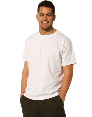 TS16 - Mens Cotton Stretch Fitted Tee Winning Spirit