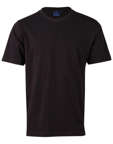 Mens 100% Cotton Semi Fitted Tee Shirt TS37