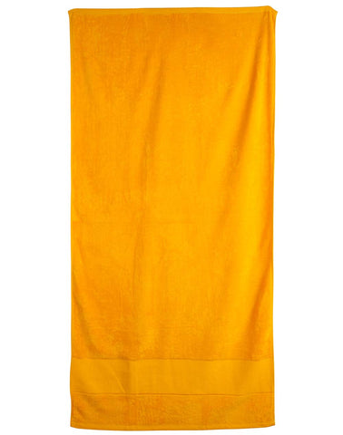 TW04A - Terry Velour Beach Towel Winning Spirit