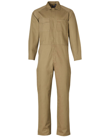 Mens Cotton Drill Coverall WA07
