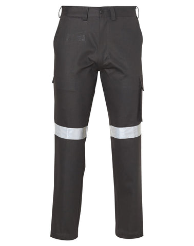 Mens Heavy Cotton Pre-shrunk Drill Pants - 3M Tapes Regular Size WP07HV