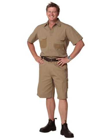 WP11 - Mens Durable Work Shorts AWS