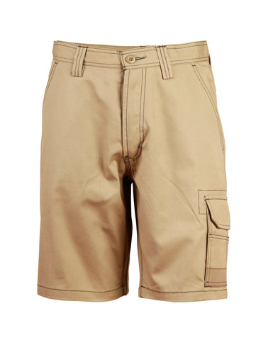 Unisex Cotton Canvas Cargo Shorts with CORDURA® WP21