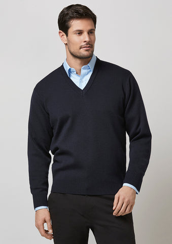 WP6008 - Mens Woolmix Pullover Biz Collection