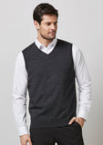 WV619M - Mens Milano Vest Biz Collection
