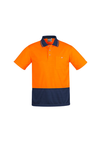 ZH415 - Mens Comfort Back S/S Polo Syzmik