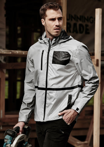 ZJ380 - Unisex Streetworx Reflective Waterproof Jacket Syzmik